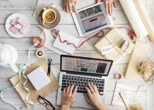 online werkplek